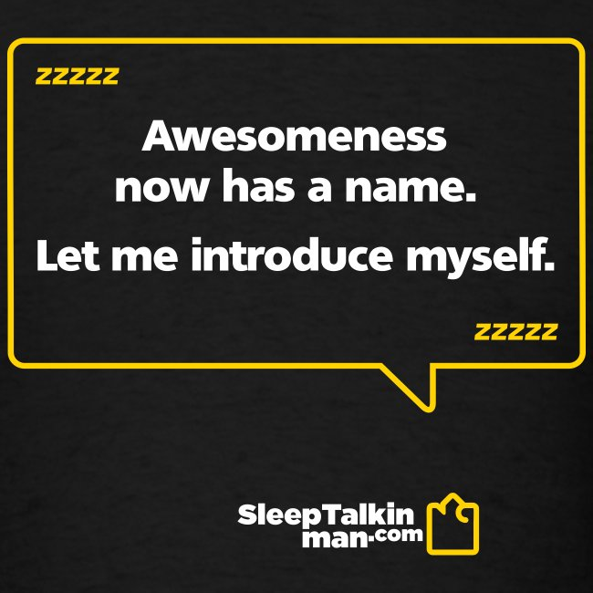 MENS: Awesomeness now has a name.