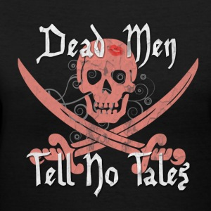 Dead Men Tell No Tales - Women's V-Neck T-Shirt