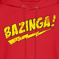Design ~ Exclusive Vintage BAZINGA Hoodie