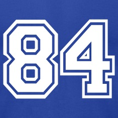 Royal blue 84 T-Shirts