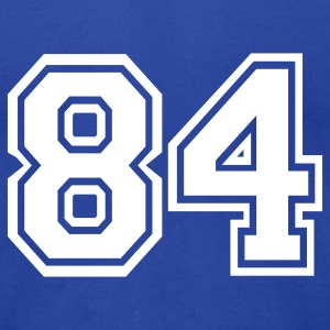 Royal blue 84 T-Shirts - Men's T-Shirt by American Apparel