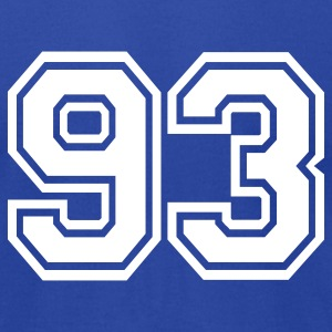 Royal blue 93 T-Shirts - Men's T-Shirt by American Apparel