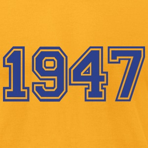 Gold 1947 T-Shirts - Men's T-Shirt by American Apparel