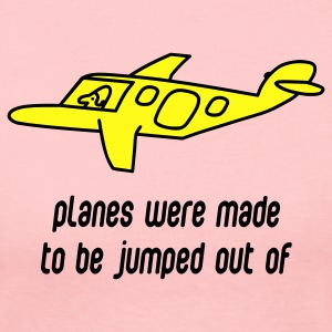 Light pink Planes Were Made Long Sleeve Shirts - Women's Long Sleeve Jersey T-Shirt