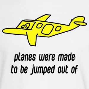 White Planes Were Made Long Sleeve Shirts - Men's Long Sleeve T-Shirt