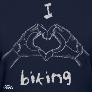 I Love Biking - Women's T-Shirt
