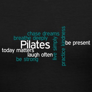 Pilates V neck T-shirt - Women's V-Neck T-Shirt