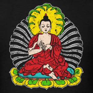 Vintage Buddha - Men's T-Shirt
