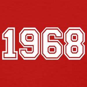 Red 1968 Women's T-Shirts - Women's T-Shirt