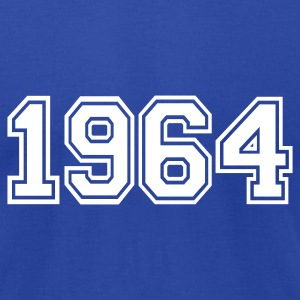 Royal blue 1964 T-Shirts - Men's T-Shirt by American Apparel