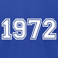 Royal blue 1972 T-Shirts