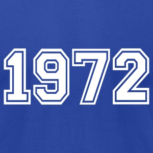 Royal blue 1972 T-Shirts - Men's T-Shirt by American Apparel