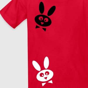 Red bunny Kids' Shirts - Kids' T-Shirt