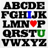 Design ~ ABC I Heart U Tee