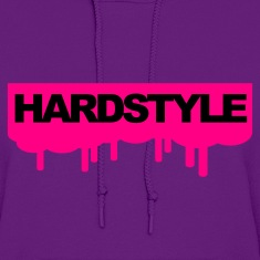 Light pink Hardstyle Drips V2 Hoodies