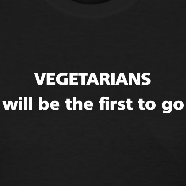 WOMENS SIMPLE: Vegetarians will be the first to go