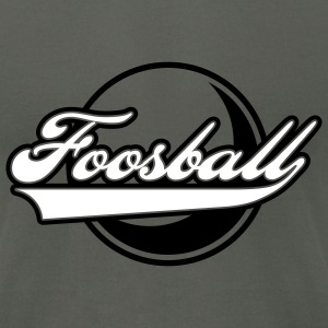 Foosball retro style - Men's T-Shirt by American Apparel