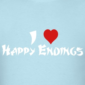 I Love Happy Endings T-Shirts - Men's T-Shirt