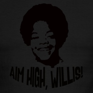 AIM HIGH WILLIS! - Men's Ringer T-Shirt