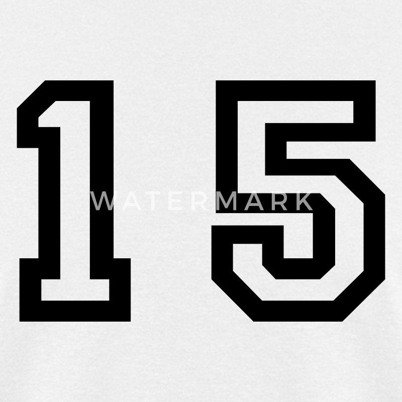number 15 fifteen t shirt spreadshirt
