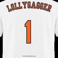Design ~ Men's F/B: CC/Lollygagger (white)
