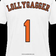 Design ~ Women's F/B: CC/Lollygagger (white)