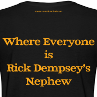Design ~ Women's F/B: CC/Dempsey's Nephew (black)
