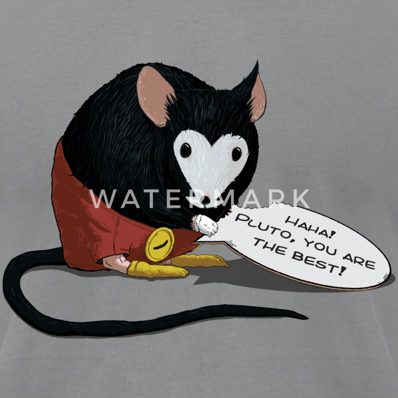 Slate Michael Mouse T-Shirts - Men's T-Shirt by American Apparel