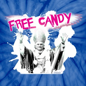 FREE CANDY - Unisex Tie Dye T-Shirt