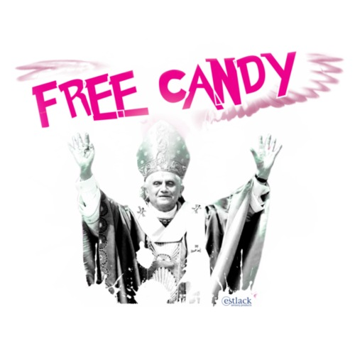 free candy: from the Vatican!
