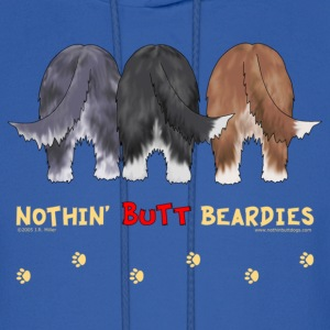 Nothin' Butt Beardies Sweatshirt - Men's Hoodie