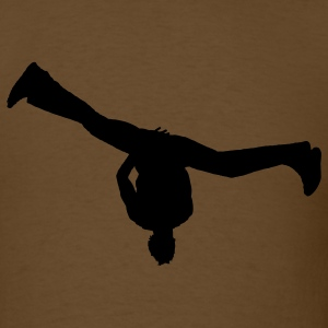 Brown breakdance T-Shirts - Men's T-Shirt