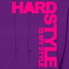 Light pink Hardstyle Side V3 Hoodies