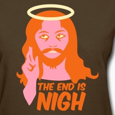 Brown the end is nigh Women's T-Shirts