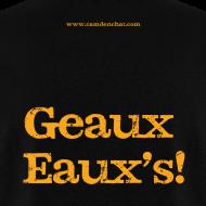 Design ~ Men's F/B: CC/Geaux Eaux's! (black)