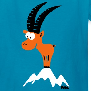 Royal blue Capricorn (c) Kids' Shirts - Kids' T-Shirt
