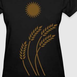 Sun and Wheat - Women's T-Shirt