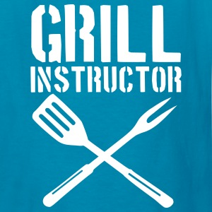 Royal blue Grill - barbecue Kids' Shirts - Kids' T-Shirt