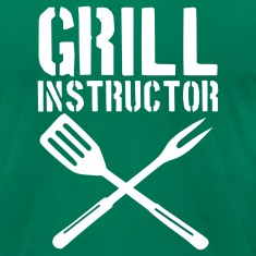 Kelly green Grill - barbecue T-Shirts