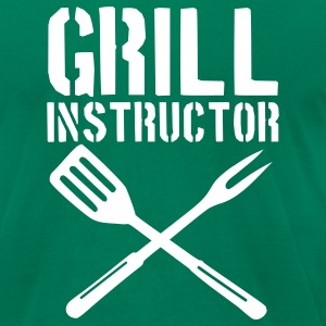 Kelly green Grill - barbecue T-Shirts - Men's T-Shirt by American Apparel
