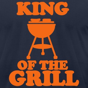 Navy Grill T-Shirts - Men's T-Shirt by American Apparel