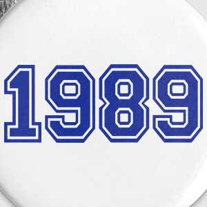 White 1989 Buttons - Large Buttons