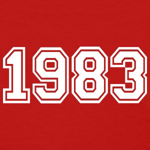 Red 1983 Women's T-Shirts - Women's T-Shirt