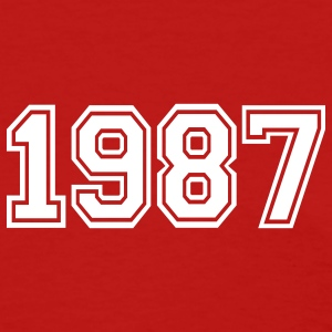 Red 1987 Women's T-Shirts - Women's T-Shirt