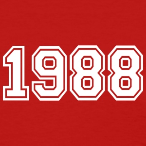 Red 1988 Women's T-Shirts - Women's T-Shirt