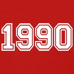 Red 1990 Women's T-Shirts - Women's T-Shirt