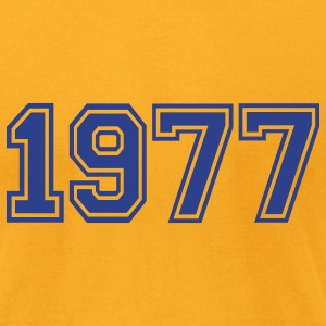 Gold 1977 T-Shirts - Men's T-Shirt by American Apparel