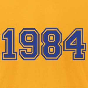 Gold 1984 T-Shirts - Men's T-Shirt by American Apparel