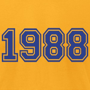 Gold 1988 T-Shirts - Men's T-Shirt by American Apparel