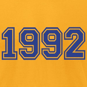 Gold 1992 T-Shirts - Men's T-Shirt by American Apparel
